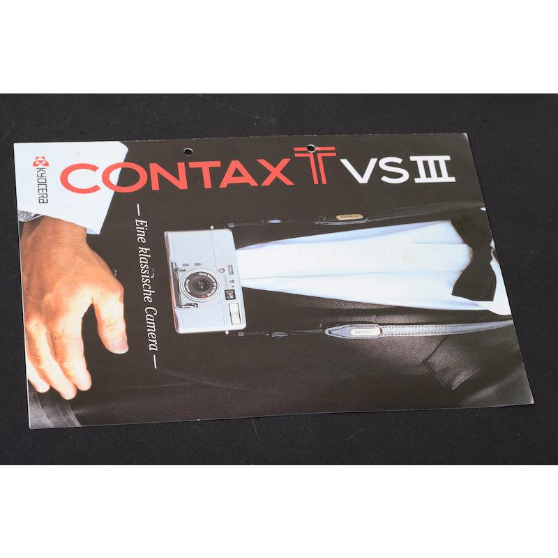 Contax Prospekt TVS III