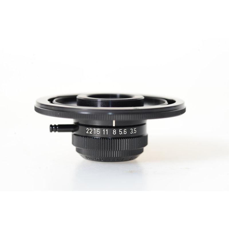 Canon 3,5/20 Lupenobjektiv M20+Adapter FD
