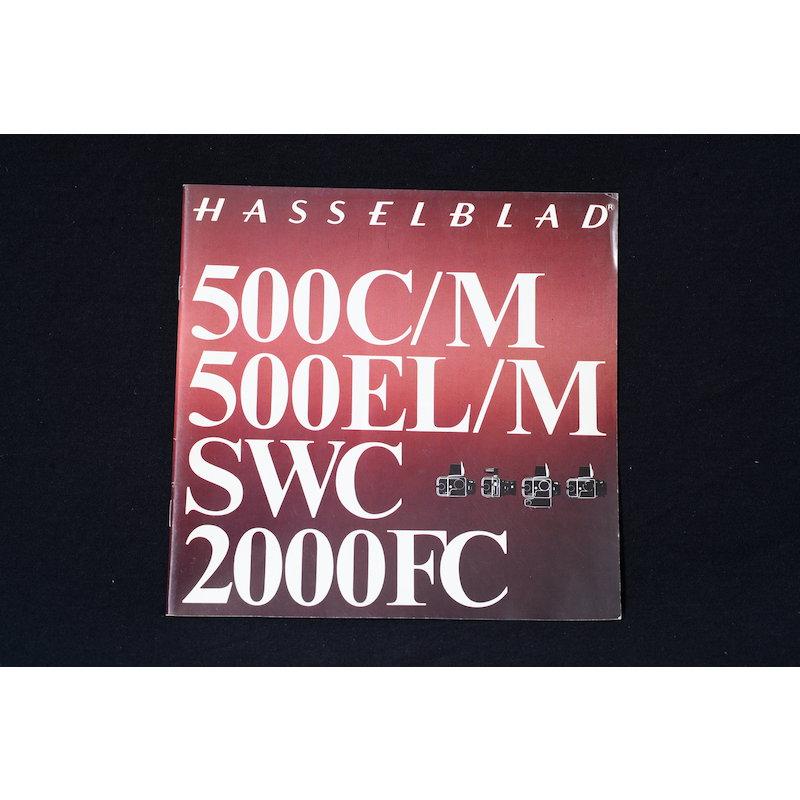 Hasselblad Prospekt 500C/M+500EL/M+SWC+200FC