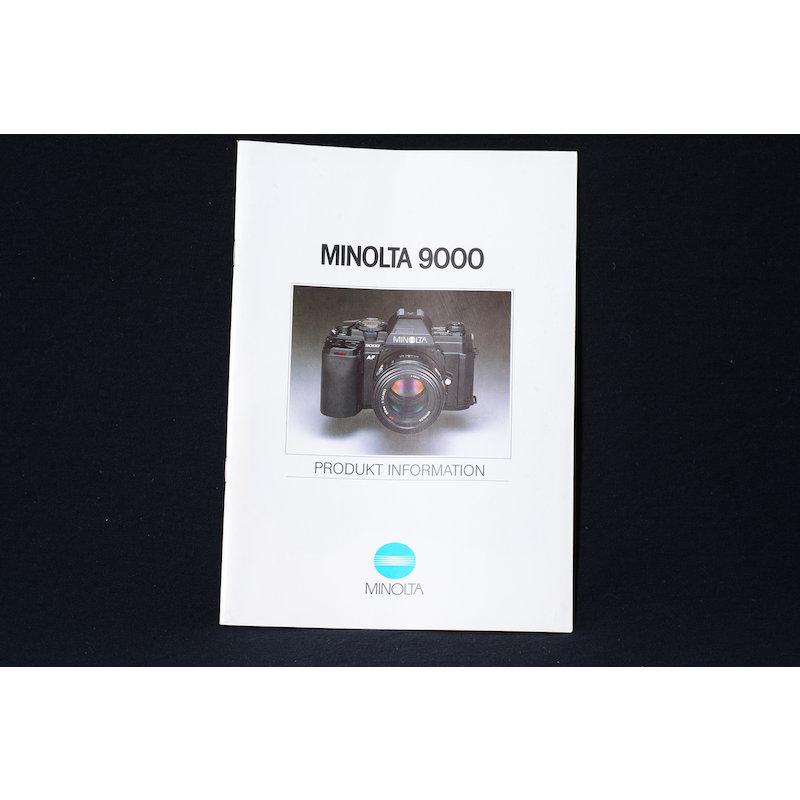 Minolta Produkt Information AF 9000