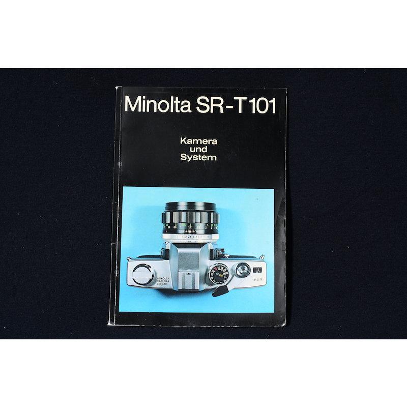 Minolta Prospekt SR-T 101 Kamera und System
