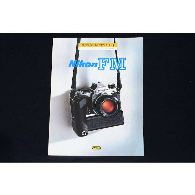 Nikon Produktinformation Nikon FM