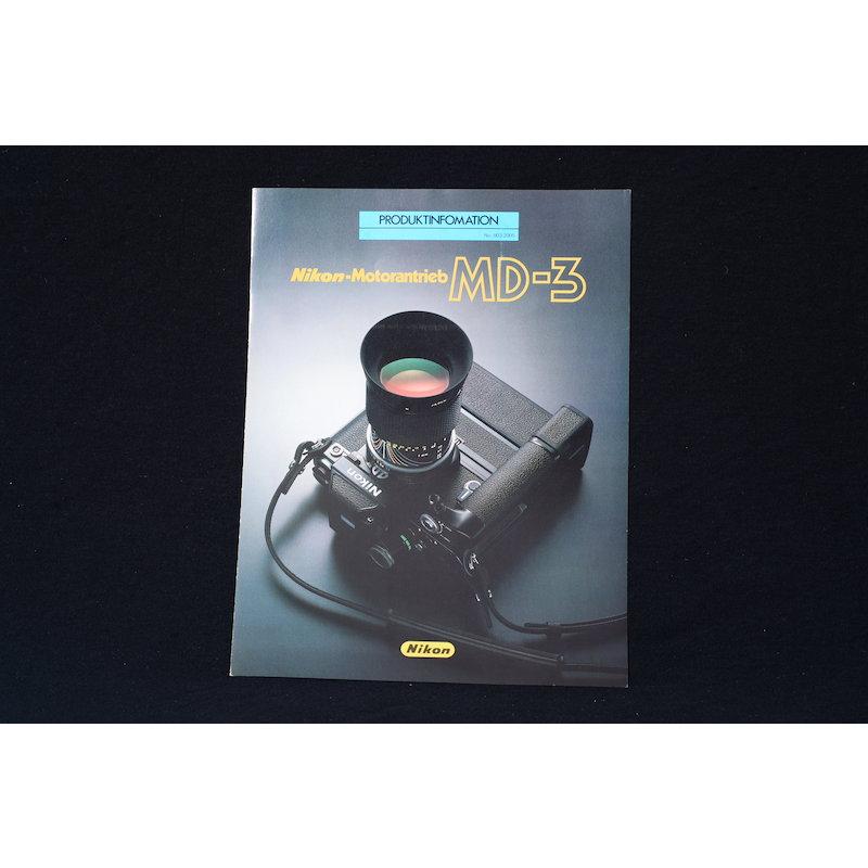 Nikon Produktinformation Motorantrieb MD-3