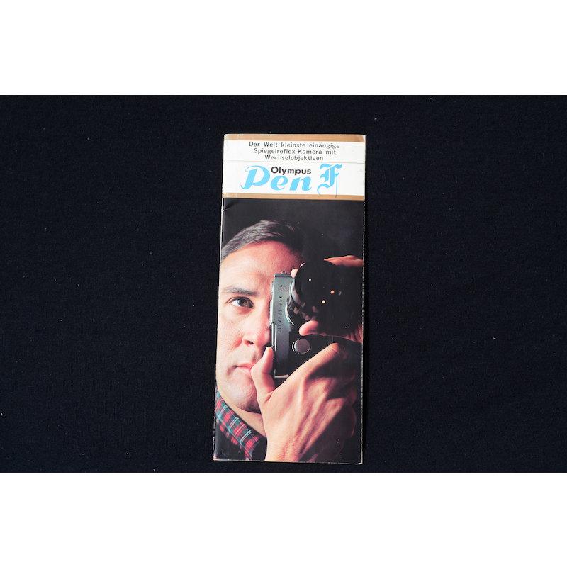 Olympus Prospekt Pen-F 1965