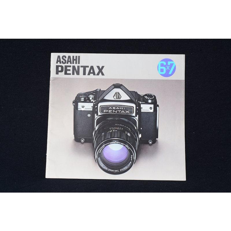 Pentax Prospekt 6x7 1975
