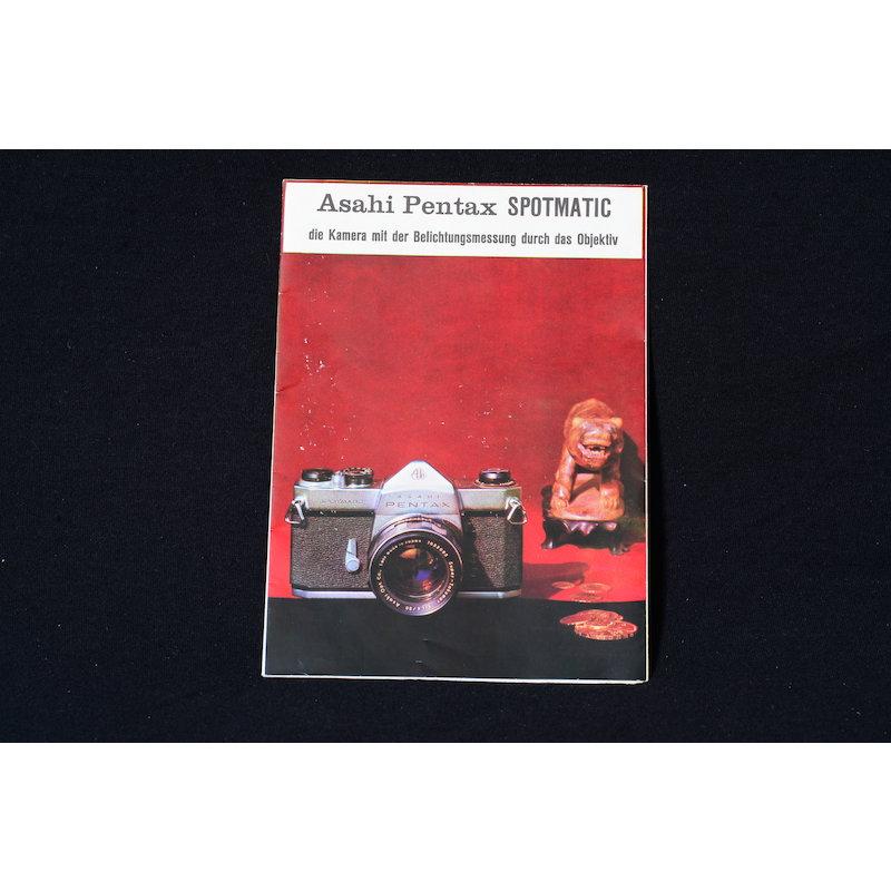 Pentax Prospekt Spotmatic 1961