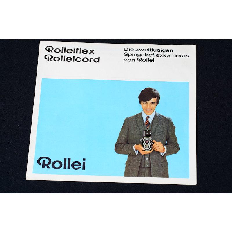 Rollei Prospekt Rolleiflex / Rolleicord Die zweiäugigen SLR