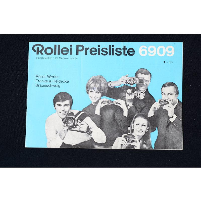 Rollei Preisliste 6809
