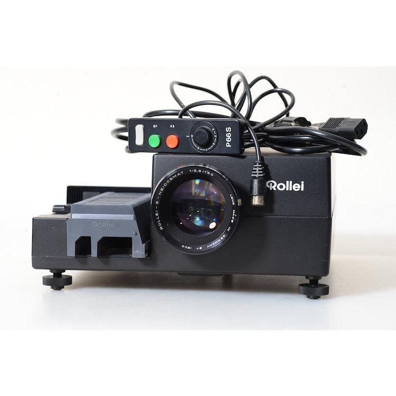 Rollei Diaprojektor P66S+S-Heidosomat 2,8/150