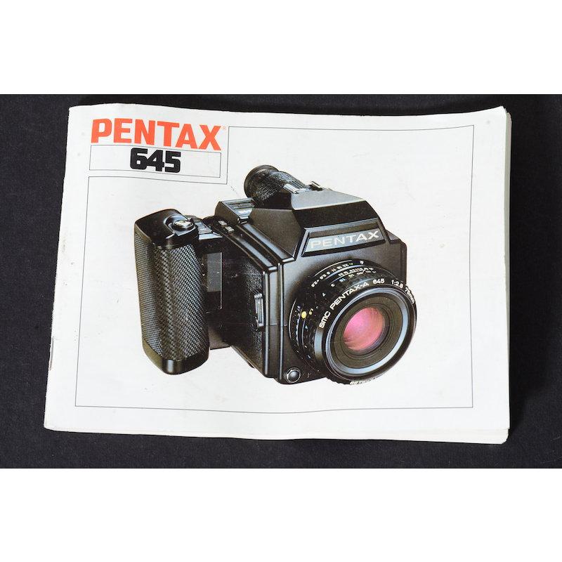Pentax Anleitung 645
