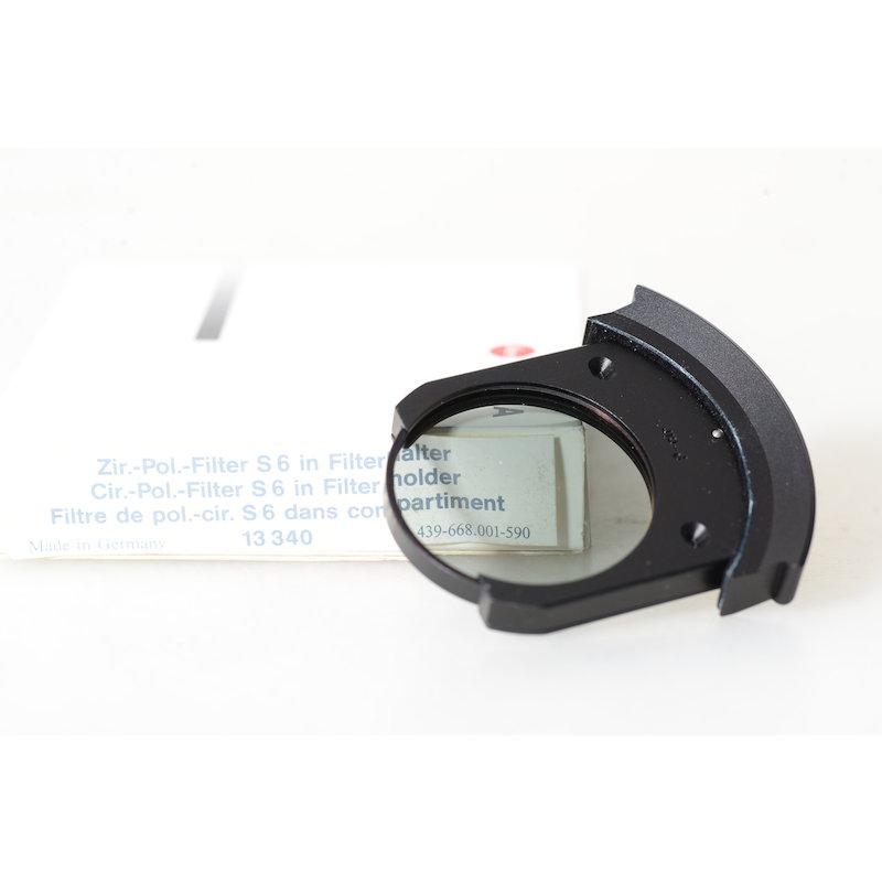 Leica Polfilter Zirkular S6 in Filterhalter