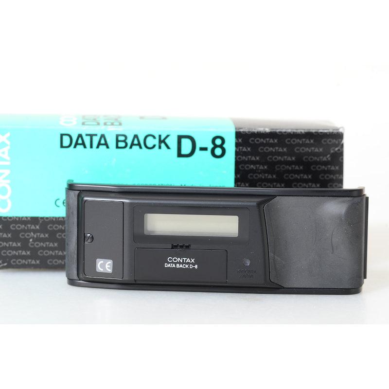 Contax Datenrückwand D-8 AX
