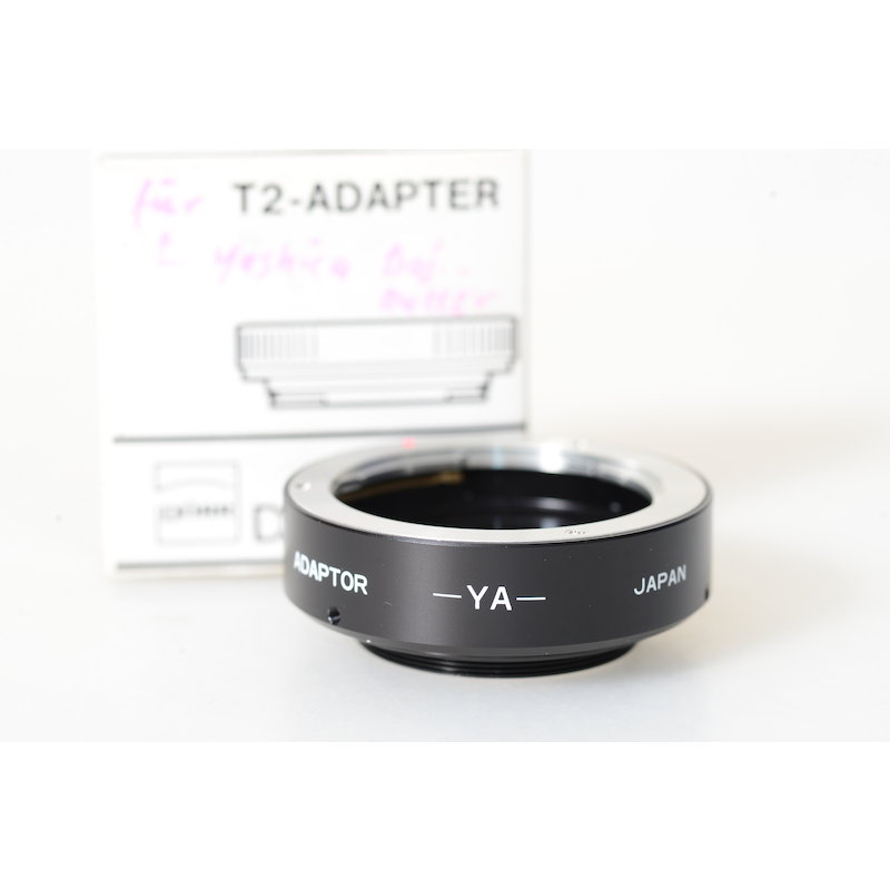 Danubia T2 Adapter Contax/Yashica