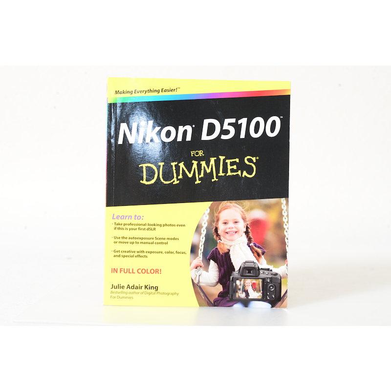 King Nikon D5100 for Dummies (Englisch)