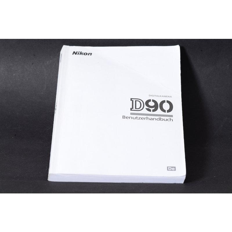 Nikon Anleitung D90