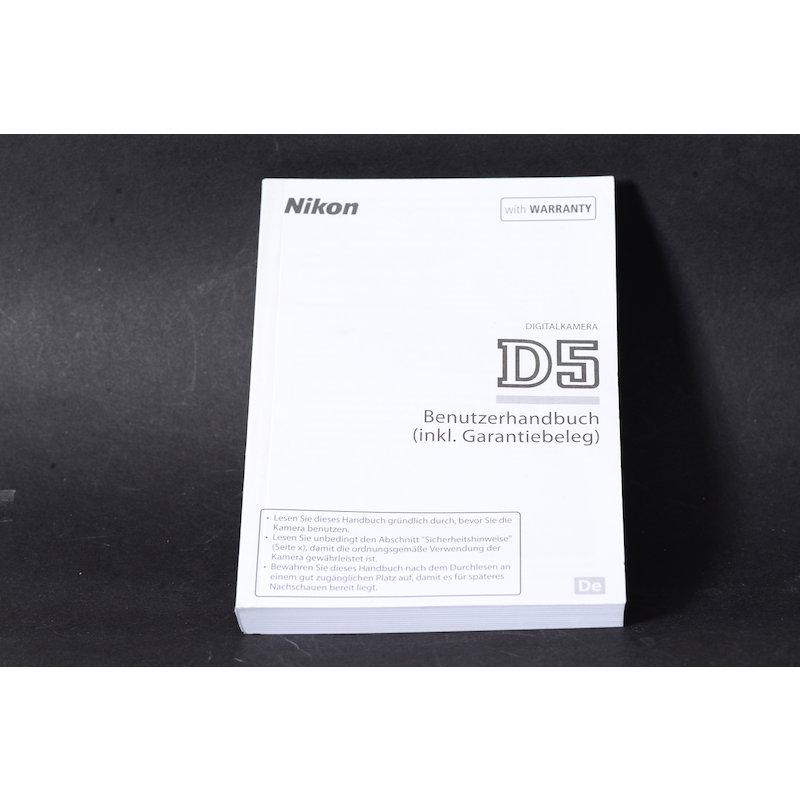 Nikon Anleitung D5