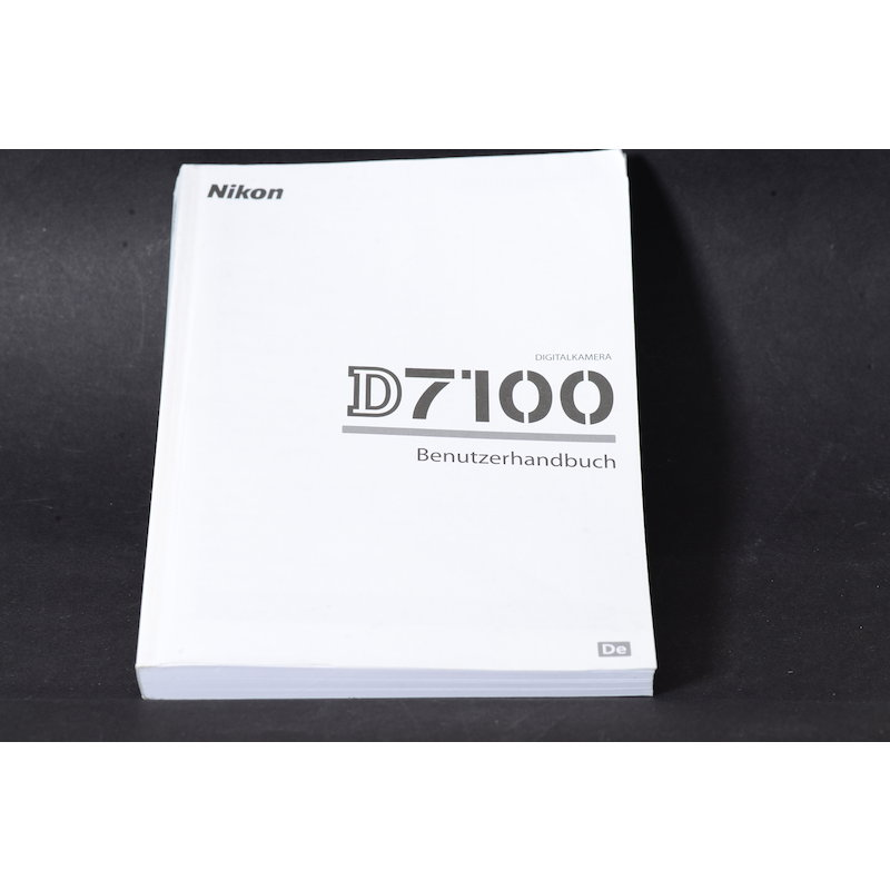 Nikon Anleitung D7100