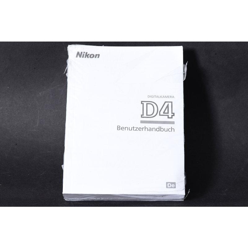 Nikon Anleitung D4