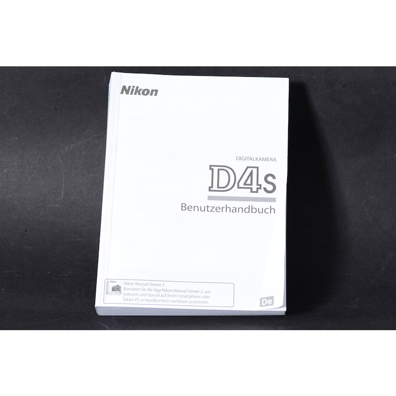 Nikon Anleitung D4S