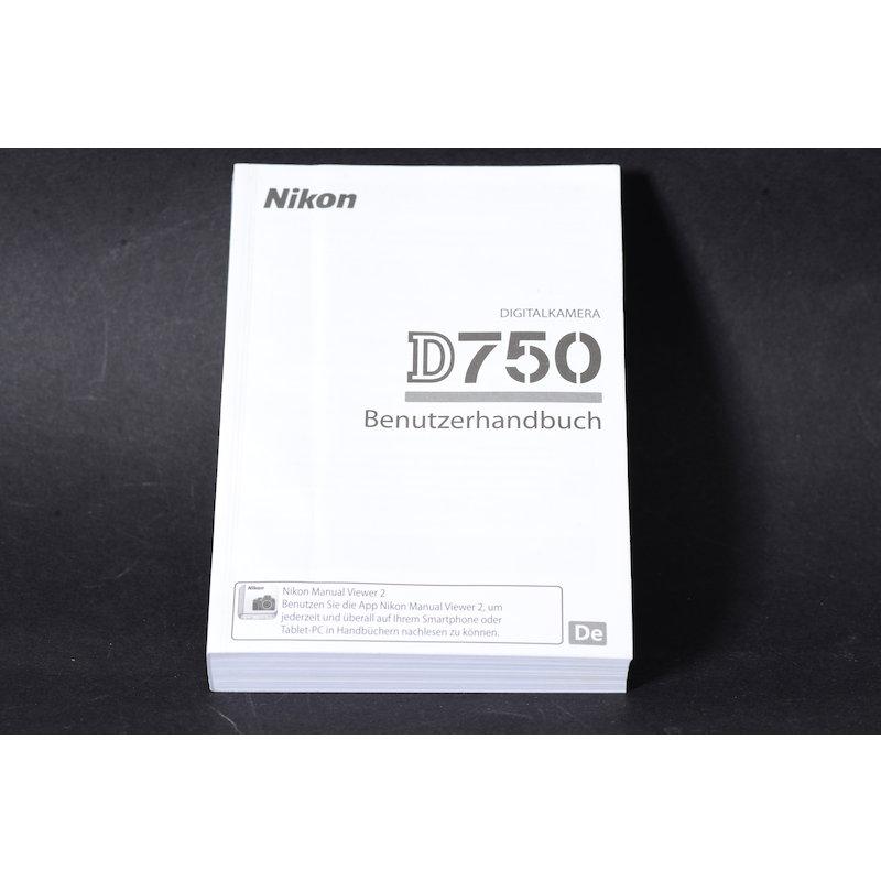 Nikon Anleitung D750