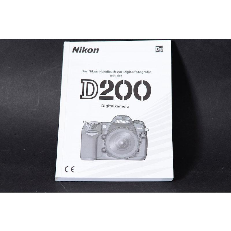 Nikon Anleitung D200