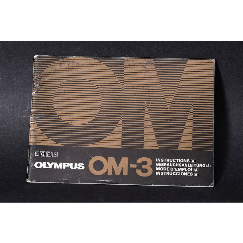 Olympus Anleitung OM-3