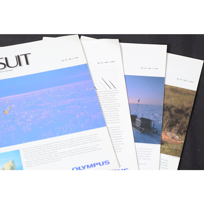 Olympus Magazin Pursit Band 1-4 1997