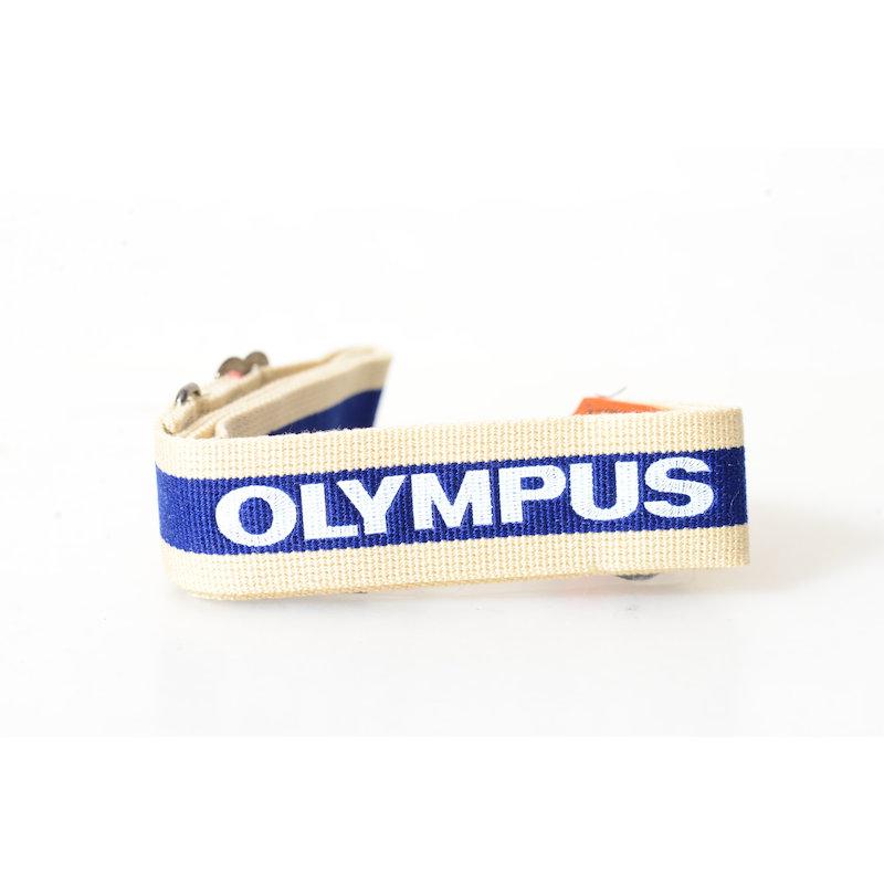 Olympus Trageriemen Weiß-Blau