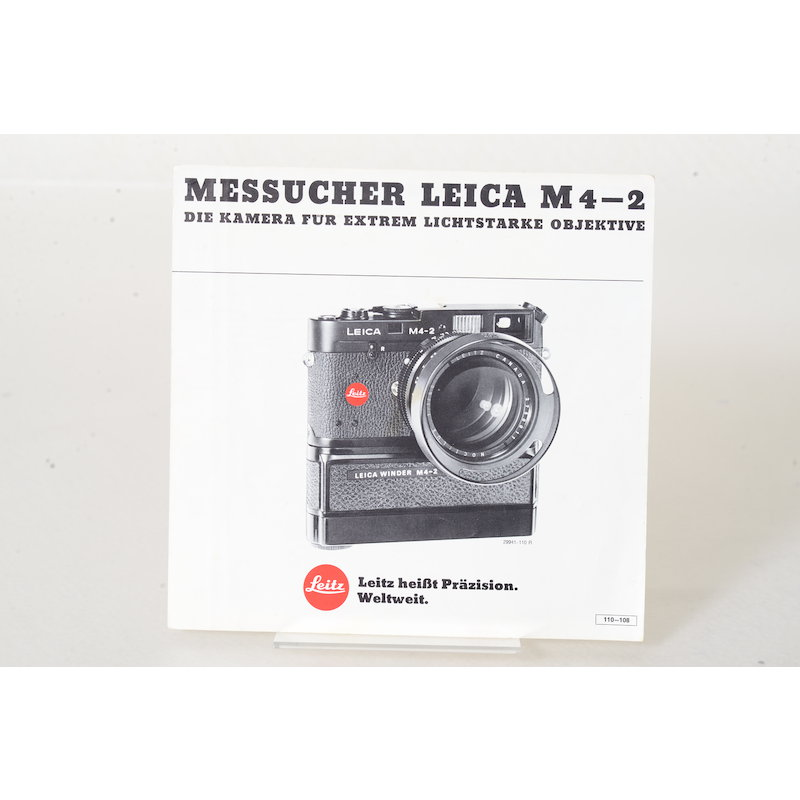 Leica Prospekt Messucher Leica M4-2
