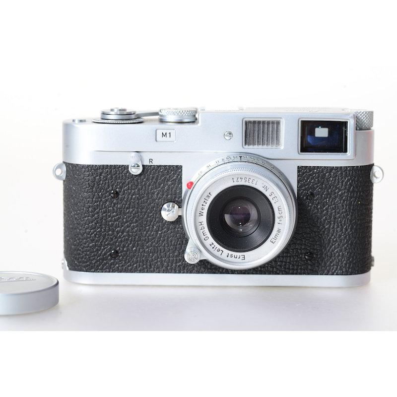 Leitz Leica M1 Chrom+Elmar 3,5/5cm