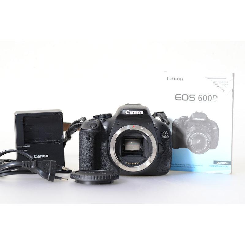 Canon EOS 600D (1650 Auslösungen)