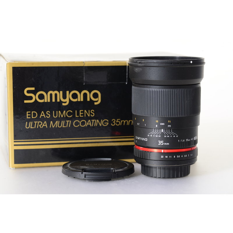 Samyang ED AS 1,4/35 Sony