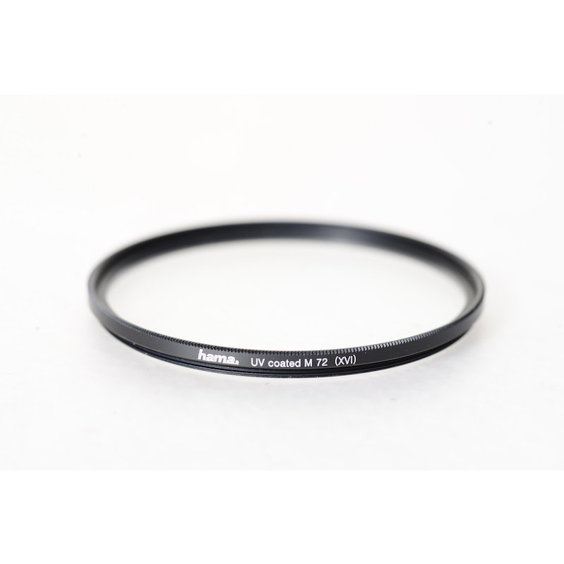 Hama UV-Filter Coated Slim E-72