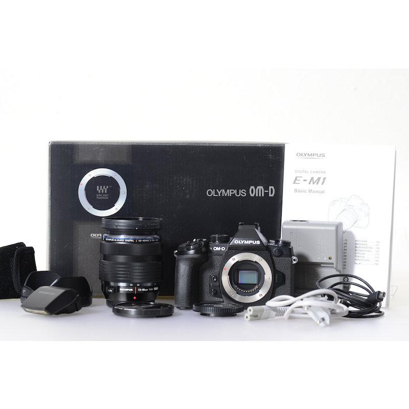 Olympus OM-D E-M1+M.Zuiko Digital ED 2,8/12-40 PRO