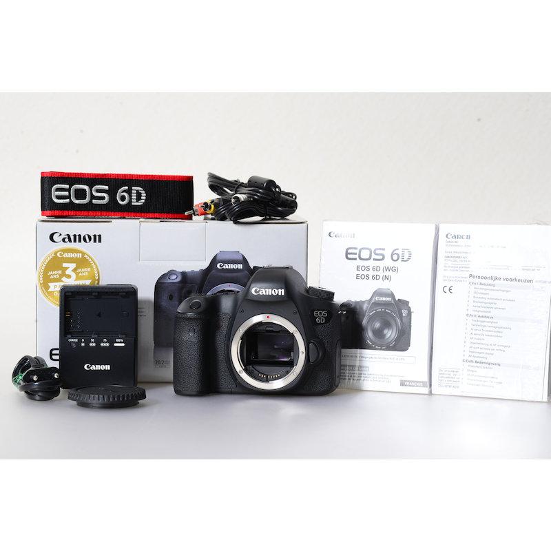 Canon EOS 6D (17650 Auslösungen)