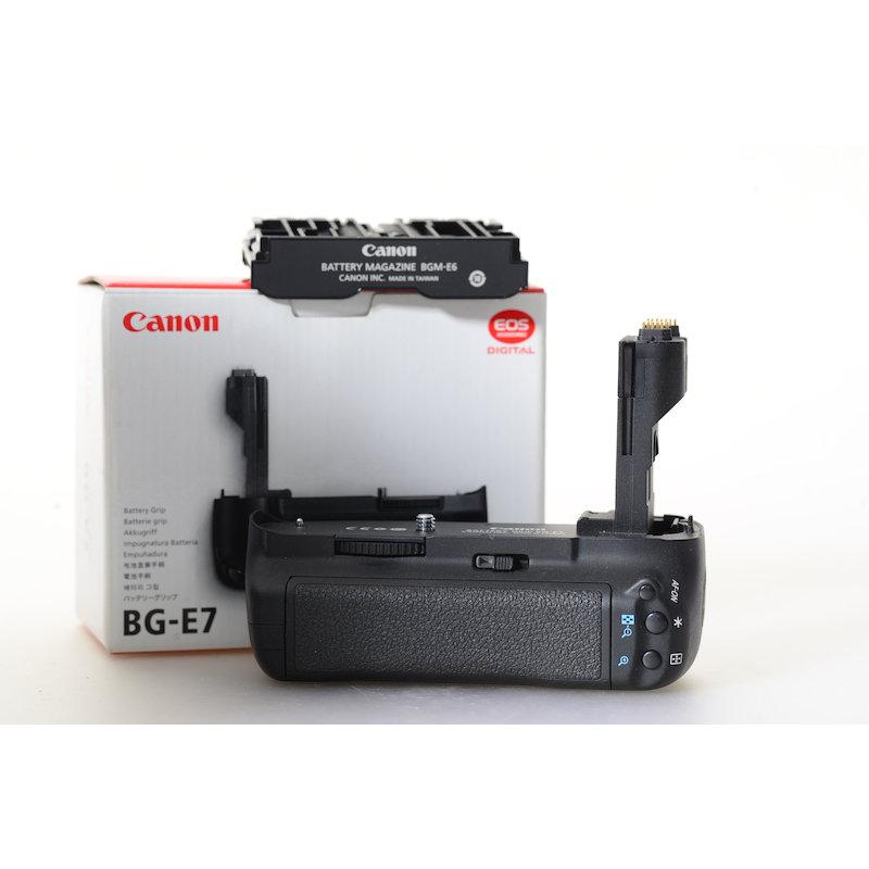 Canon Batterie-Pack BG-E7 EOS 7D