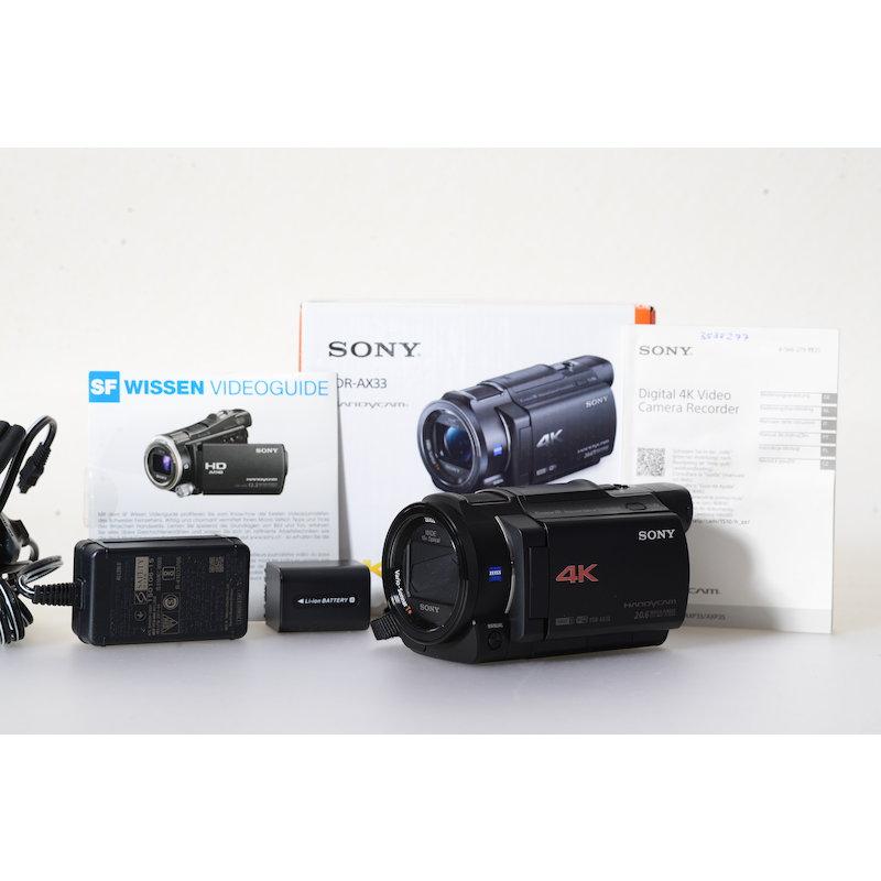 Sony Camcorder 4K FDR-AX33
