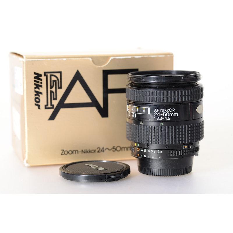 Nikon AF 3,3-4,5/24-50