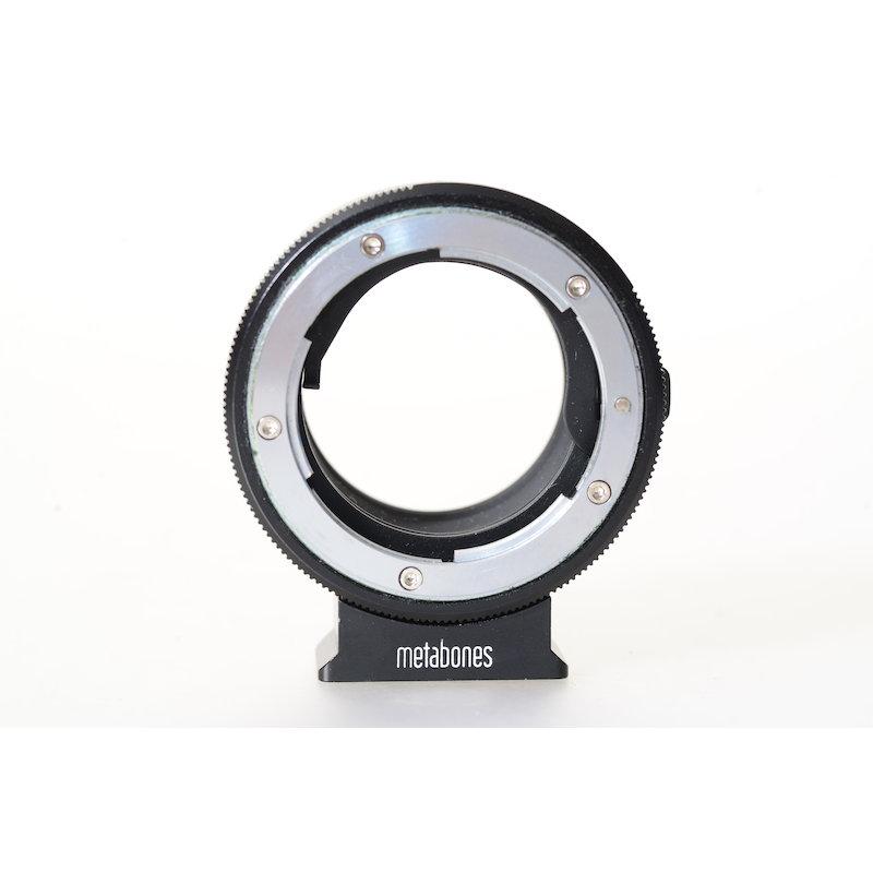 Metabones Nikon F Objektivadapter Sony Nex