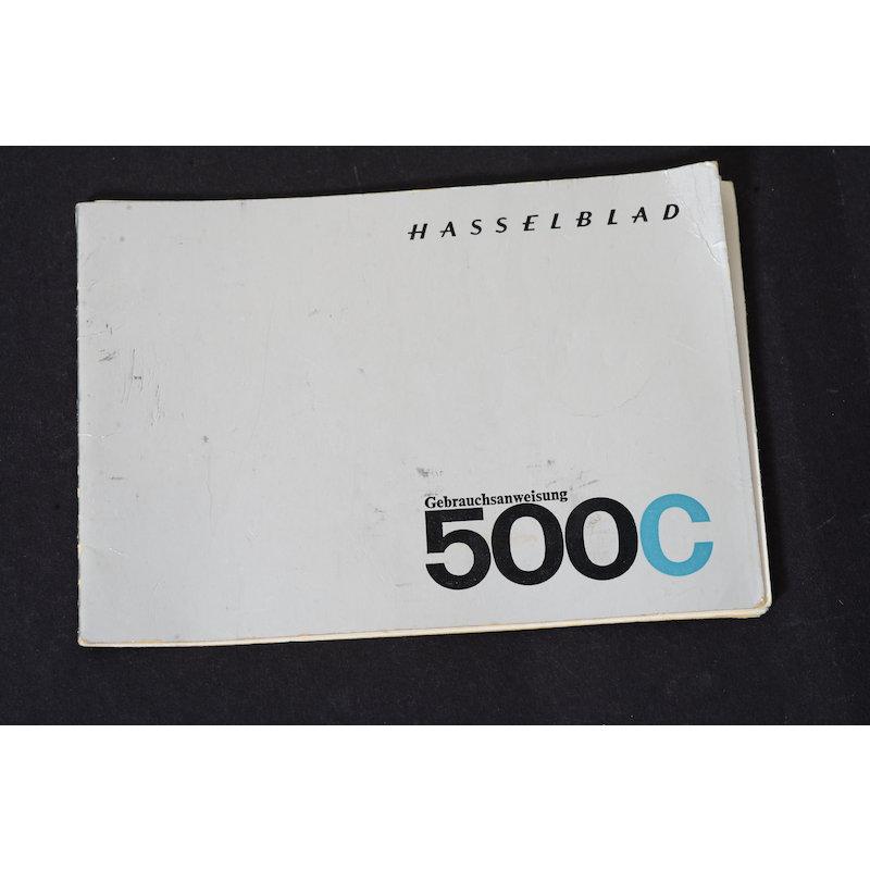 Hasselblad Anleitung 500C