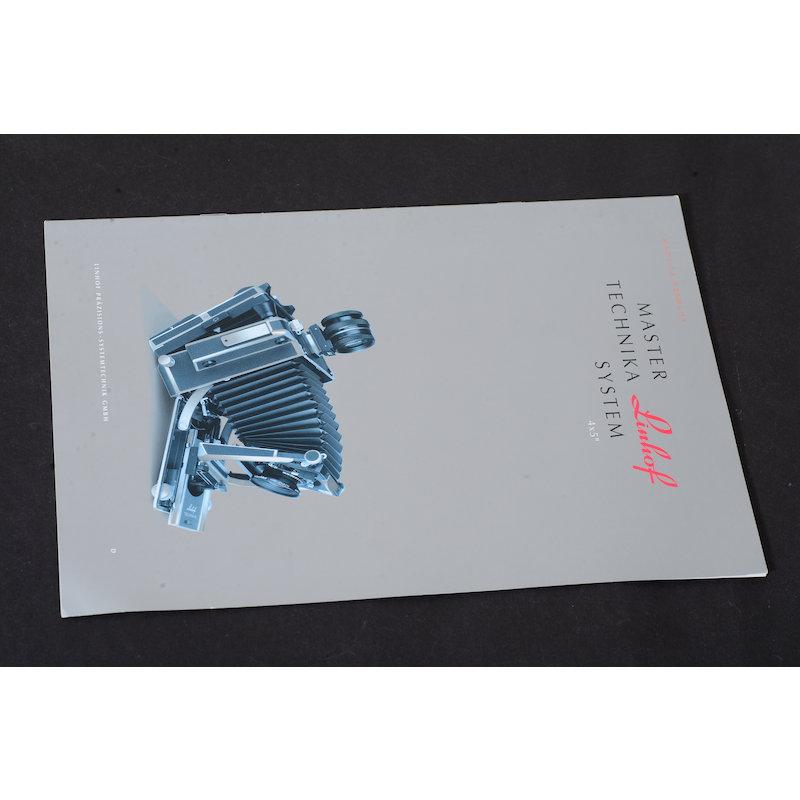 Linhof Prospekt Master Technika System 4x5