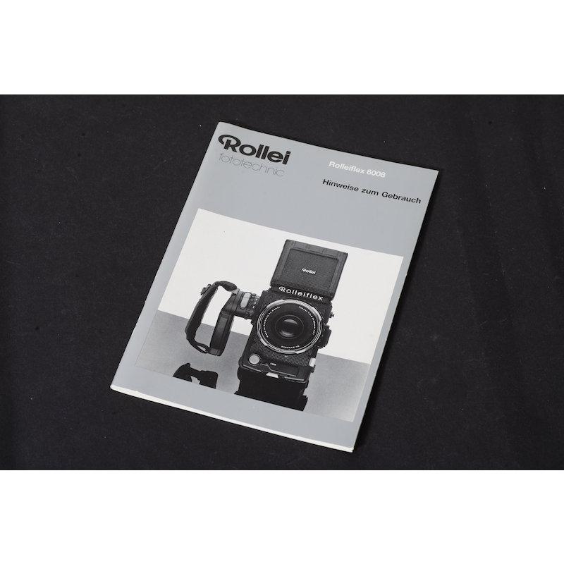 Rollei Anleitung Flex 6008 Hinweise zum Gebrauch