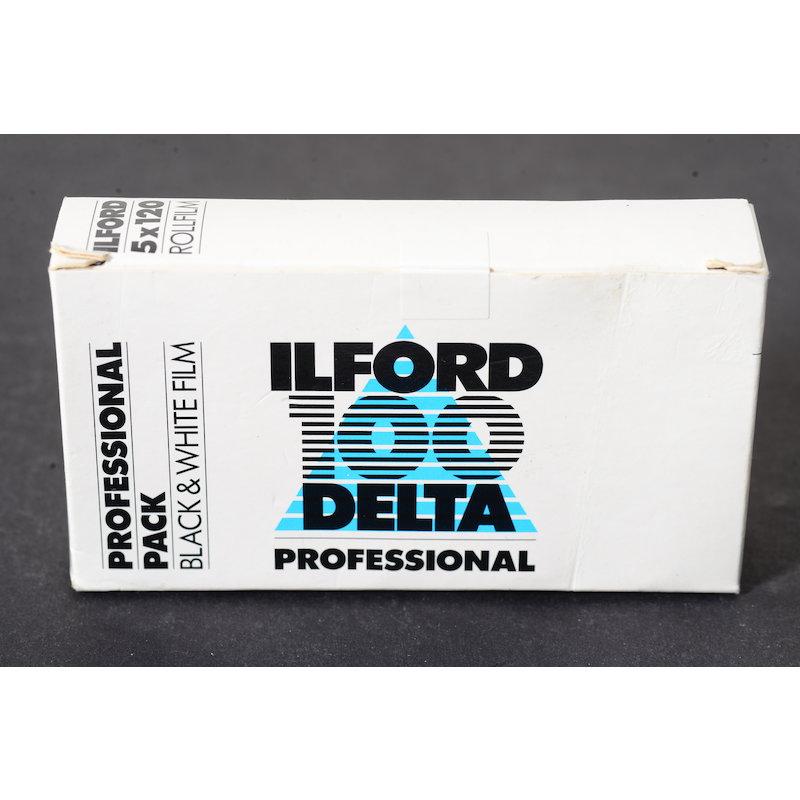 Ilford Delta 100 5x120 (Ablauf 03/1999)