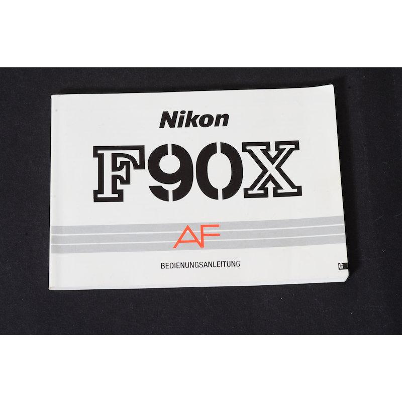 Nikon Anleitung F90X