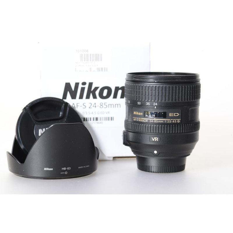 Nikon AF-S 3,5-4,5/24-85 G ED VR