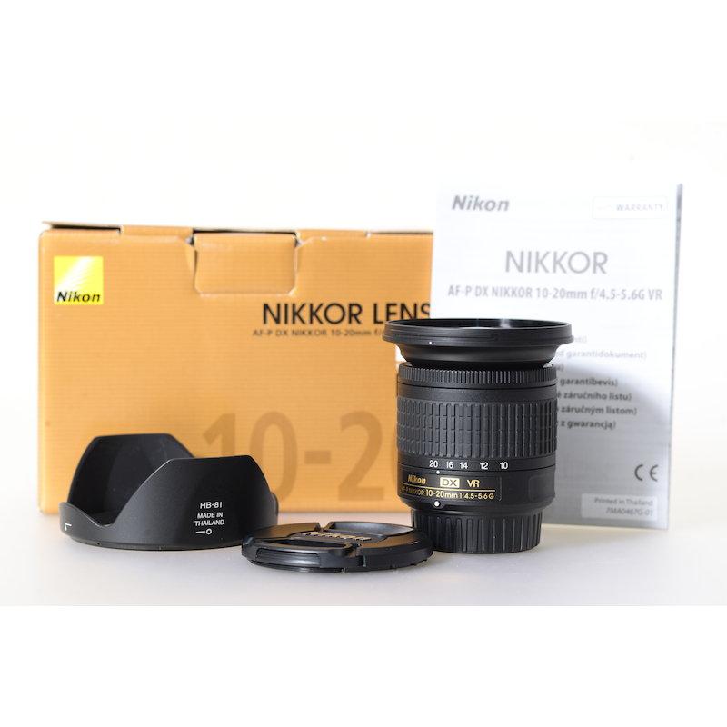 Nikon AF-P 4,5-5,6/10-20 G DX VR
