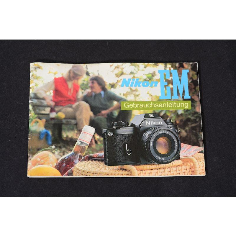 Nikon Anleitung EM