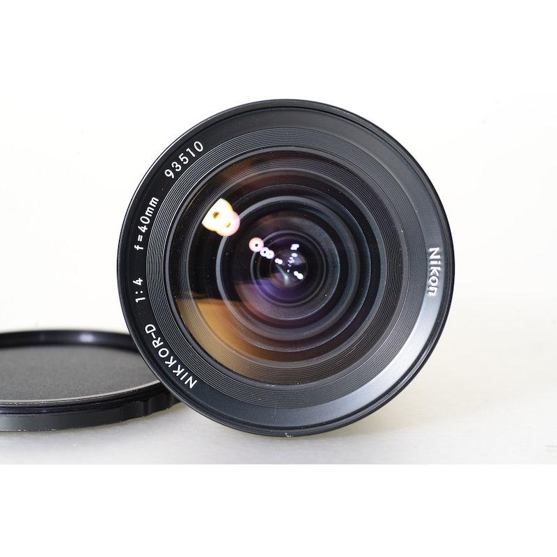 Nikon Nikkor-D 4,0/40 Bronica C/S2/EC-TL
