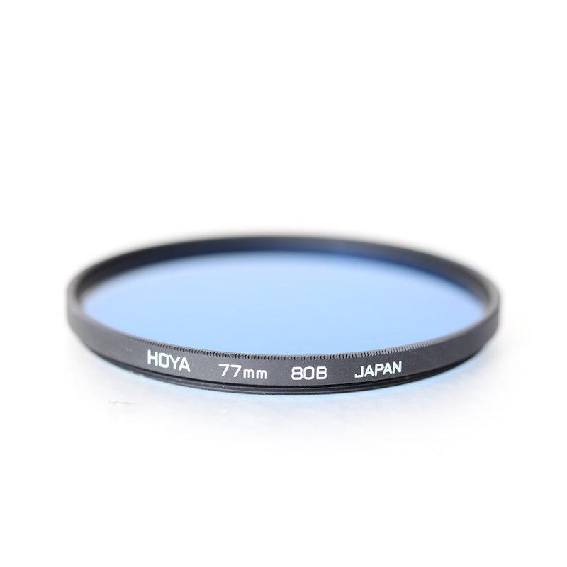 Hoya Korrektur Blau 80B HMC E-77