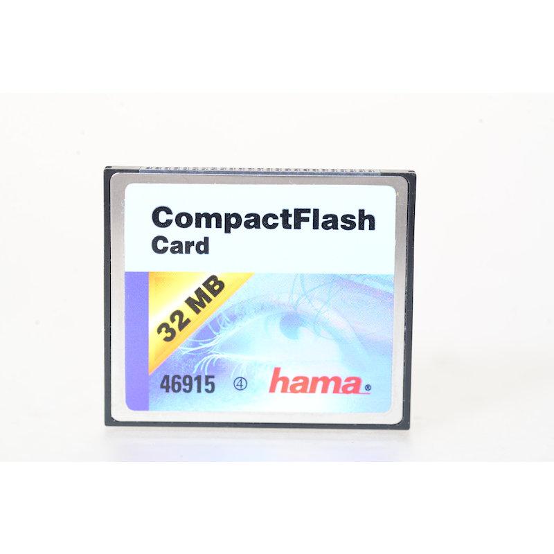 Hama Compact-Flash Karte 32MB